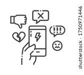 Cyberbullying Victim Hand...