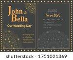 golden black creative modern... | Shutterstock .eps vector #1751021369
