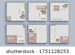 set of sale banner template... | Shutterstock .eps vector #1751128253