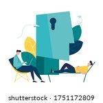 vector illustration ... | Shutterstock .eps vector #1751172809