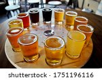 A Flight Of Beer Samplers....