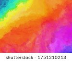 bright rainbow colors abstract...