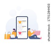 the concept of online stores  e ...