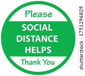 Social Distancing Concept For...