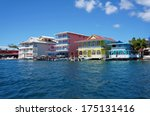Colorful Caribbean Buildings...