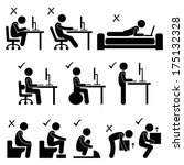 Good And Bad Human Body Postur...