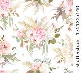 luxurious beige trendy vector... | Shutterstock .eps vector #1751325140