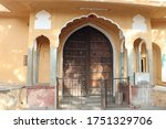 Small photo of This is an Ashram in Jaipur, Rajasthan and it must be around 100 Years Old Ashram