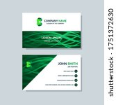 creative business card template ... | Shutterstock .eps vector #1751372630