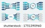 Set Vector Infographic Templat...