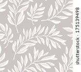 floral seamless pattern with... | Shutterstock .eps vector #175139498