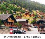 Grimentz  Valais  Switzerland ...