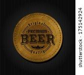 retro styled label of beer....   Shutterstock .eps vector #175142924