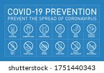 prevention covid19 line icon... | Shutterstock .eps vector #1751440343