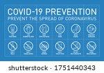 prevention covid19 line icon... | Shutterstock .eps vector #1751440343