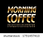 vector elegant logo morning... | Shutterstock .eps vector #1751457413