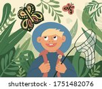 summer time in nature  outdoor... | Shutterstock .eps vector #1751482076