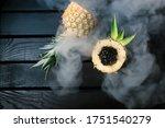 Bowl On Pineapple For Hookah...
