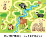 Help The Little Lost Hare Find...