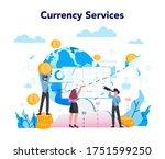 currency exchange service... | Shutterstock .eps vector #1751599250