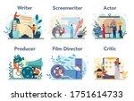 film production profession set. ...   Shutterstock .eps vector #1751614733