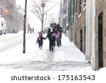 bronx  new york   january 21  a ... | Shutterstock . vector #175163543