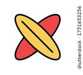 surf board  sport icon. simple...