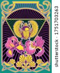 Psychedelic Art Poster Egyptia...