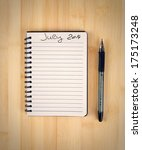 to do list for 2014 july | Shutterstock . vector #175173248