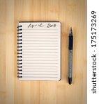 to do list for 2014 april | Shutterstock . vector #175173269