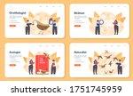 ornithologist web banner or...   Shutterstock .eps vector #1751745959