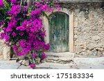 Old Wooden Door And...