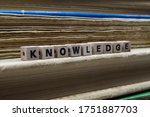 Close Up Of Isolated Word...