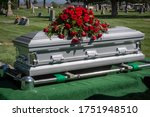 Casket Getting Ready To Be...
