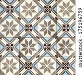 decorative tiles. | Shutterstock . vector #175196759