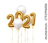 happy new year 2021. background ... | Shutterstock .eps vector #1751996006
