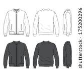 jacket vector template download at vectorportal