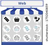 new trend web icon set....