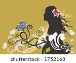 illustration of a female... | Shutterstock .eps vector #1752163
