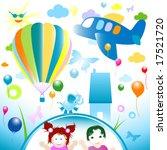 happy world  abstract design...   Shutterstock .eps vector #17521720