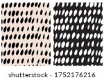 cute abstract spots seamless... | Shutterstock .eps vector #1752176216