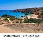 Aerial View At Praia Dona Anna...