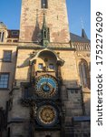 Prague. Old Town Hall Tower...