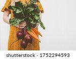 Vegan Food Organic Vegetables...