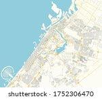 vector map of dubai  arab... | Shutterstock .eps vector #1752306470