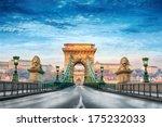 Chain Bridge In Budapest ...