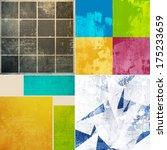 grunge background   Shutterstock . vector #175233659