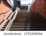 Wide Staircase From The...