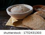 Sourdough Dough In Proofing...