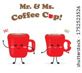 Mister And Missis Coffee Cup...